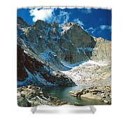 Chasm Lake Shower Curtain