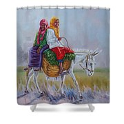 Chat Shower Curtain