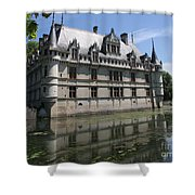 Chataeu Azay-le-rideau Shower Curtain
