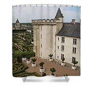 Chateau And Garden - Villandry Shower Curtain
