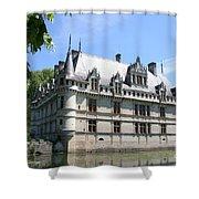 Chateau Azay-le-rideau From The Gardens  Shower Curtain