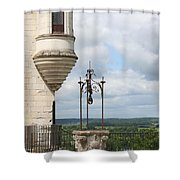 Chateau Baywindow And Well Shower Curtain