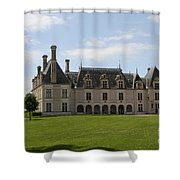 Chateau Beauregard Loire Valley Shower Curtain