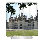 Chateau Chambord - France Shower Curtain