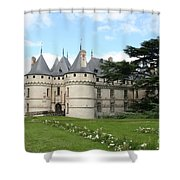 Chateau Chaumont From The Garden  Shower Curtain