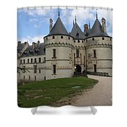 Chateau Chaumont Steeples Shower Curtain