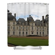 Chateau Cheverney - Front View Shower Curtain