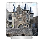 Chateau D'angers - Chatelet  Shower Curtain