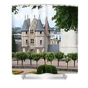 Chateau D'angers - Chatelet View Shower Curtain