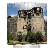 Chateau D'angers - France Shower Curtain