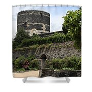 Chateau D'angers Tower Shower Curtain