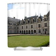 Chateau De Beauregard Loire Valley Shower Curtain