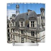 Chateau De Chambord Shower Curtain