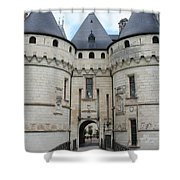 Chateau De Chaumont - France Shower Curtain