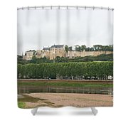 Chateau De Chinon - France Shower Curtain