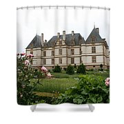 Chateau De Cormatin Garden Shower Curtain