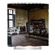 Chateau De Cormatin Kitchen - Burgundy Shower Curtain
