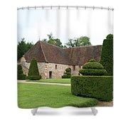 Chateau De Cormatin Stable Shower Curtain