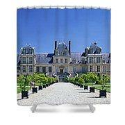 Chateau De Fontainebleau Ile De France Shower Curtain
