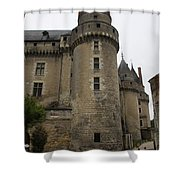 Chateau De Langeais - France Shower Curtain