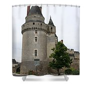 Chateau De Langeais Tower Shower Curtain