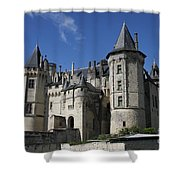 Chateau De Saumur Shower Curtain