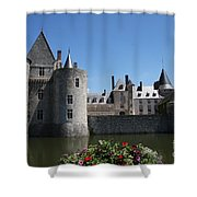 Chateau De Sully-sur-loire View Shower Curtain