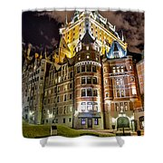 Chateau Frontenac Shower Curtain