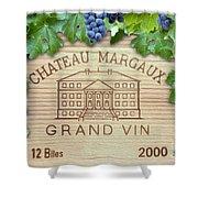 Chateau Margaux Shower Curtain