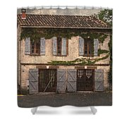 Chateau No 1 Rue Moulins France Shower Curtain