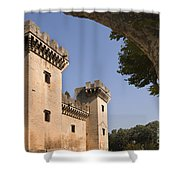 Chateau Of King Rene, France Shower Curtain