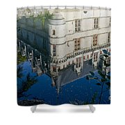 Chateau Reflection Shower Curtain