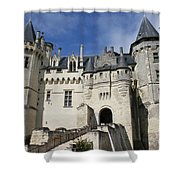 Chateau Saumur  Shower Curtain