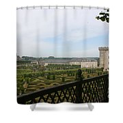Chateau Vilandry And Garden View Shower Curtain