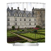 Chateau Villandry - Usefulness And Ornament  Shower Curtain