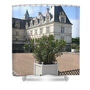 Chateau Villandry View Shower Curtain