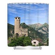 Chatelard Castle Shower Curtain