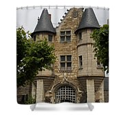 Chatelet - Chateau D'angers  Shower Curtain