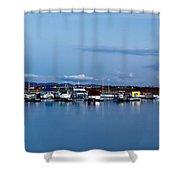 Chatfield Marina Shower Curtain