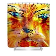 Chatou  Shower Curtain
