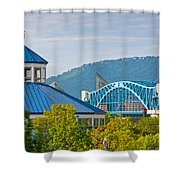 Chattanooga View Shower Curtain