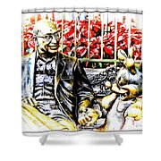 Chatting Shower Curtain