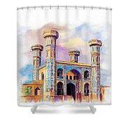 Chauburji Lahore Shower Curtain