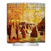 Chaukhandi Tombs Shower Curtain by Catf
