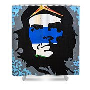 Che Guevara Picture Shower Curtain