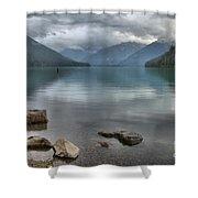 Cheakamus Lake - Squamish British Columbia Shower Curtain