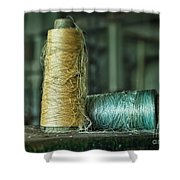 Cheap Threads Shower Curtain