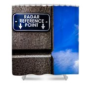 Check Your  Radar Here Shower Curtain