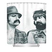 Cheech And Chong Shower Curtain