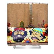 Cheech N Chong  Shower Curtain